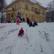 První hry na sněhu