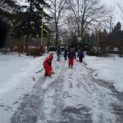 Uklízíme sníh